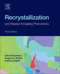 Cover image for Recrystallization and Related Annealing Phenomena