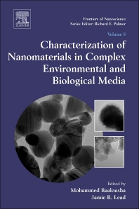 Cover image for Characterization of Nanomaterials in Complex Environmental and Biological Media