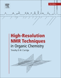 cover of High-Resolution NMR Techniques in Organic Chemistry - 3rd Edition