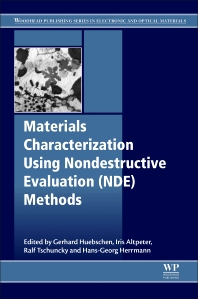 Cover image for Materials Characterization Using Nondestructive Evaluation (NDE) Methods