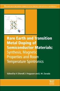 Rare Earth and Transition Metal Doping of Semiconductor Materials - 1st Edition - ISBN: 9780081000410, 9780081000601
