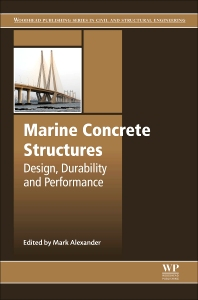 Cover image for Marine Concrete Structures