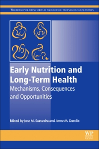 Early Nutrition and Long-Term Health - 1st Edition - ISBN: 9780081001684, 9780081001868