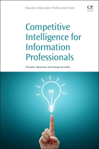 Cover image for Competitive Intelligence for Information Professionals