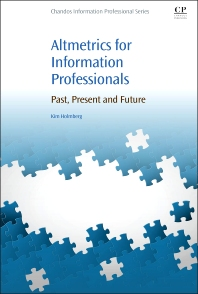 Cover image for Altmetrics for Information Professionals