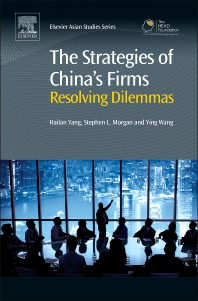 Cover image for The Strategies of China's Firms