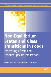 Cover image for Non-Equilibrium States and Glass Transitions in Foods
