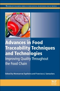 Cover image for Advances in Food Traceability Techniques and Technologies
