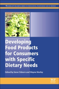 Cover image for Developing Food Products for Consumers with Specific Dietary Needs