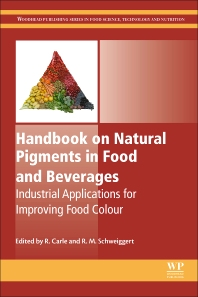 Cover image for Handbook on Natural Pigments in Food and Beverages
