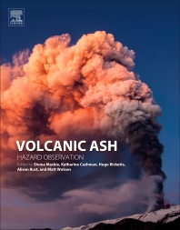 Dating method for volcanic ash