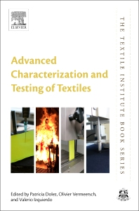 Cover image for Advanced Characterization and Testing of Textiles