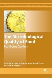 Cover image for The Microbiological Quality of Food