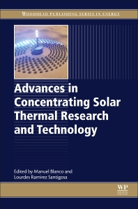 Cover image for Advances in Concentrating Solar Thermal Research and Technology