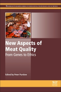 Cover image for New Aspects of Meat Quality