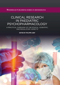 Cover image for Clinical Research in Paediatric Psychopharmacology