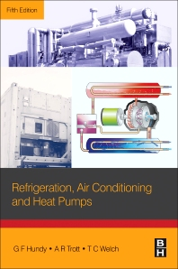 Cover image for Refrigeration, Air Conditioning and Heat Pumps