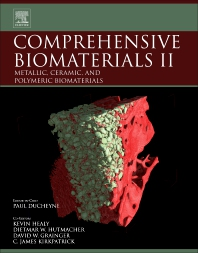 Cover image for Comprehensive Biomaterials II