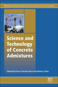Cover image for Science and Technology of Concrete Admixtures