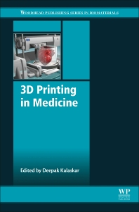 Cover image for 3D Printing in Medicine