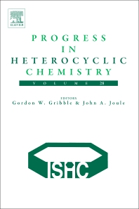 Progress in Heterocyclic Chemistry - 1st Edition - ISBN: 9780081007556, 9780081007617