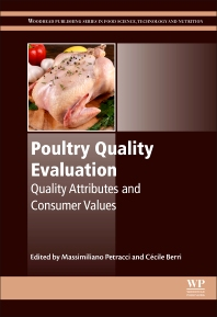 Poultry Quality Evaluation - 1st Edition - ISBN: 9780081007631, 9780081007693