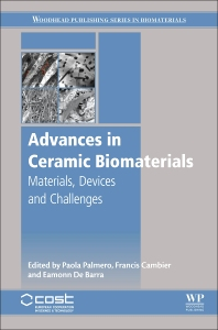 Cover image for Advances in Ceramic Biomaterials