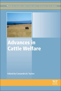 Advances in Cattle Welfare - 1st Edition - ISBN: 9780081009383
