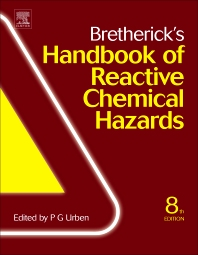 cover of Bretherick's Handbook of Reactive Chemical Hazards - 8th Edition