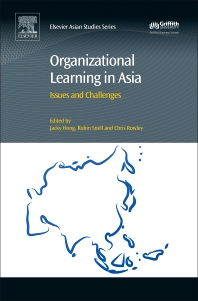 Organizational Learning in Asia - 1st Edition - ISBN: 9780081009833, 9780128095805