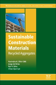 Sustainable Construction Materials - 1st Edition - ISBN: 9780081009857