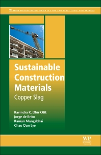 Sustainable Construction Materials - 1st Edition - ISBN: 9780081009864, 9780081009888