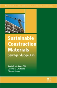 Sustainable Construction Materials - 1st Edition - ISBN: 9780081009871, 9780081009895
