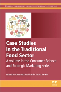 Cover image for Case Studies in the Traditional Food Sector