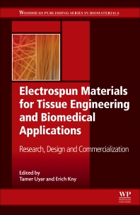 Book cover image for Electrospun Materials for Tissue Engineering and Biomedical Applications