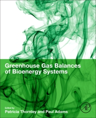cover of Greenhouse Gas Balances of Bioenergy Systems - 1st Edition