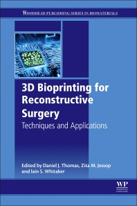 cover of 3D Bioprinting for Reconstructive Surgery - 1st Edition