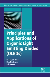 Principles and Applications of Organic Light Emitting Diodes (OLEDs) - 1st Edition - ISBN: 9780081012130, 9780081012499
