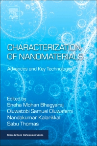 Cover image for Characterization of Nanomaterials