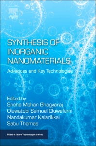 Cover image for Synthesis of Inorganic Nanomaterials