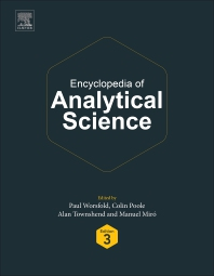 Cover image for Encyclopedia of Analytical Science