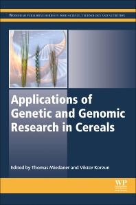 Cover image for Applications of Genetic and Genomic Research in Cereals