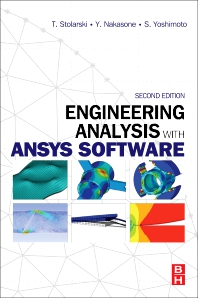 Cover image for Engineering Analysis with ANSYS Software