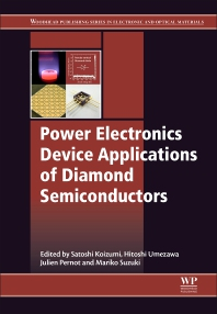 Cover image for Power Electronics Device Applications of Diamond Semiconductors