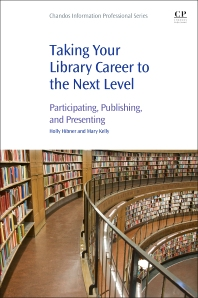 cover of Taking Your Library Career to the Next Level - 1st Edition
