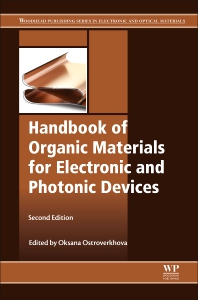 Cover image for Handbook of Organic Materials for Electronic and Photonic Devices