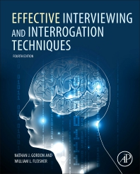cover of Effective Interviewing and Interrogation Techniques - 4th Edition