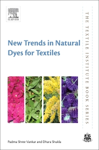 Cover image for New Trends in Natural Dyes for Textiles