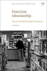 Cover image for Front-Line Librarianship
