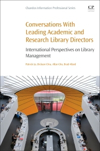 cover of Conversations with Leading Academic and Research Library Directors - 1st Edition